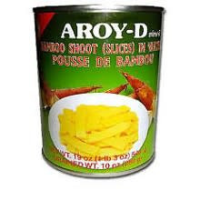 Aroy D Bamboo Shoots Sliced 24x540g (Pre-Order)