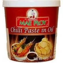 Mae Ploy Chilli Paste in Oil 24x400g (Pre-Order)