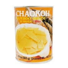 Chaokoh Bamboo Shoot Slice in Water 24x565g (Pre-Order)
