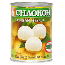 Chaokoh Longan in Syrup 24x565g (Pre-Order)