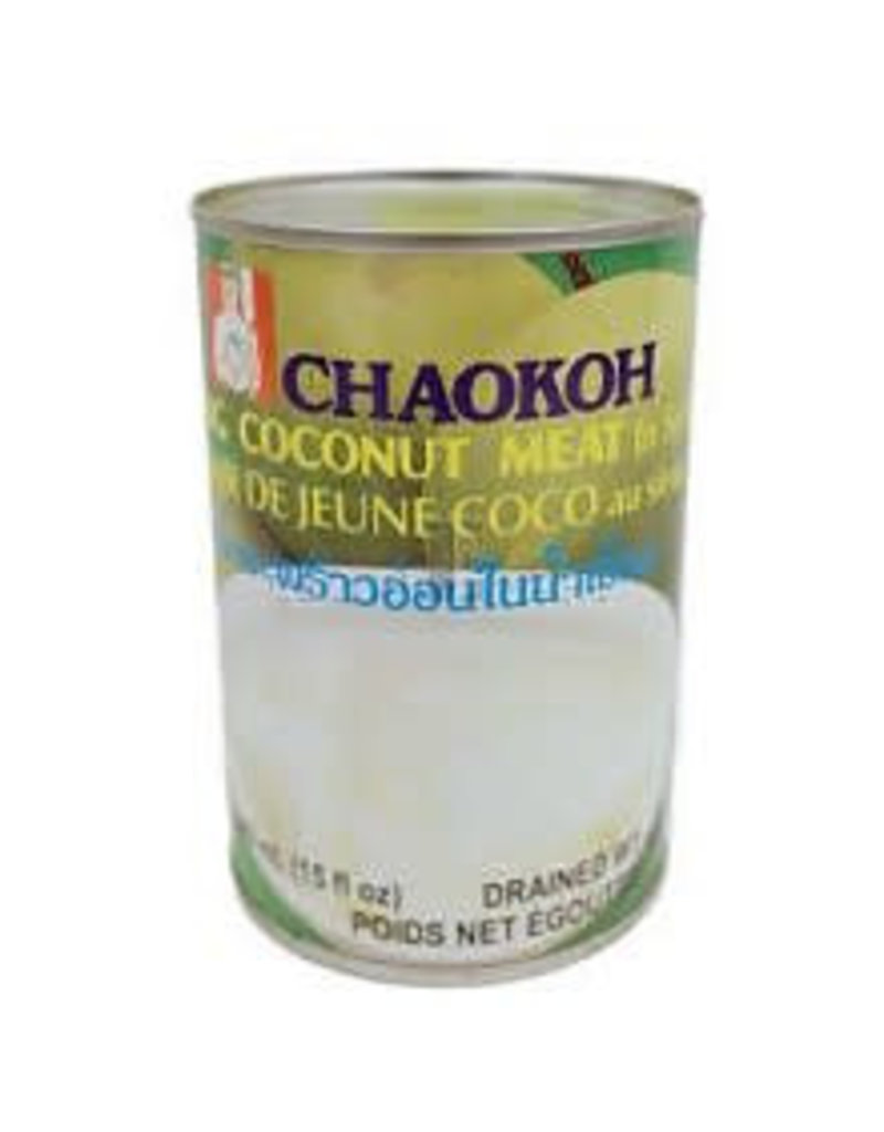 Chaokoh Young Coconut Meat in Syrup 24x440g (Pre-Order)