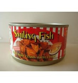 Smiling Fish Fried Baby Clams with Chilli 24x70g (Pre-Order)