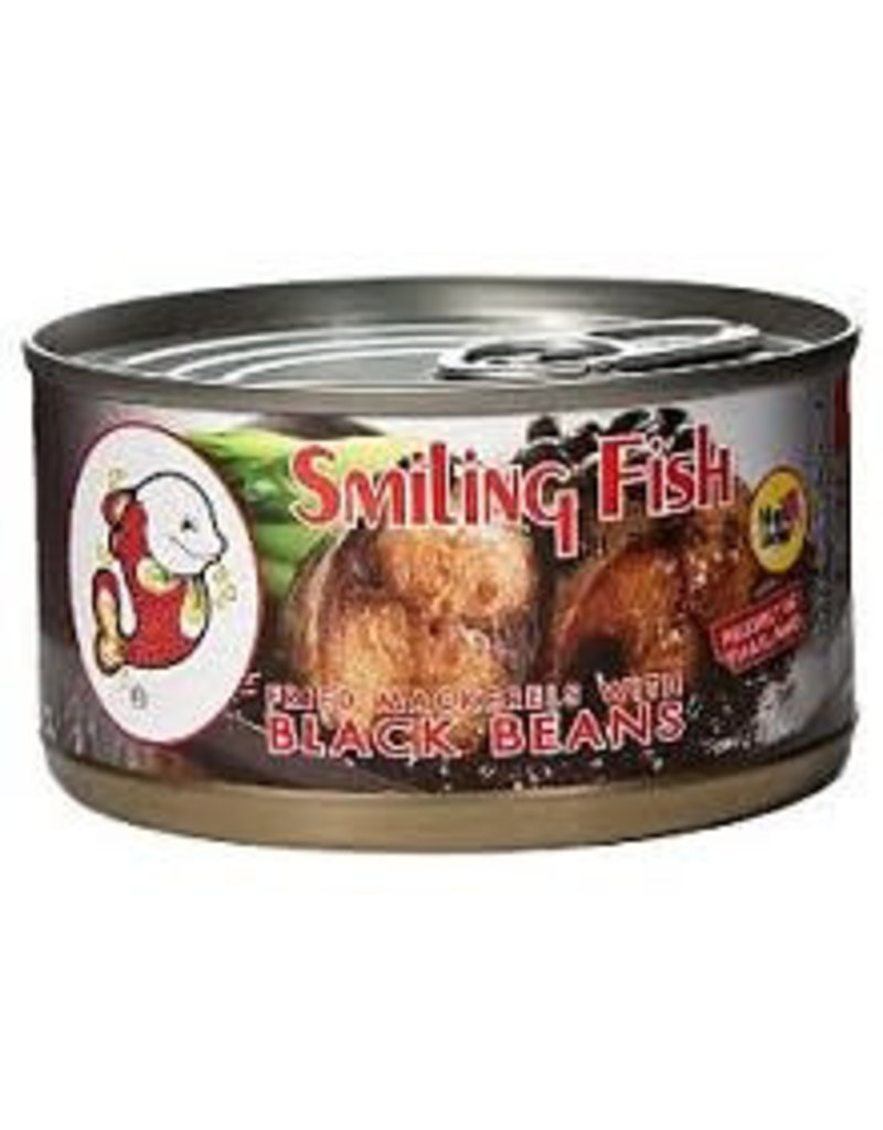 Smiling Fish Fried Mackerels with Black Beans 24x120g (Pre-Order)