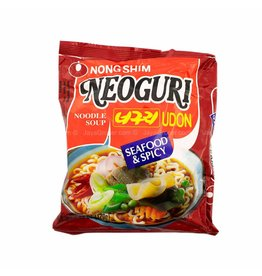 Nongshim Udon Noodle - Neoguri Seafood & Spicy 120g
