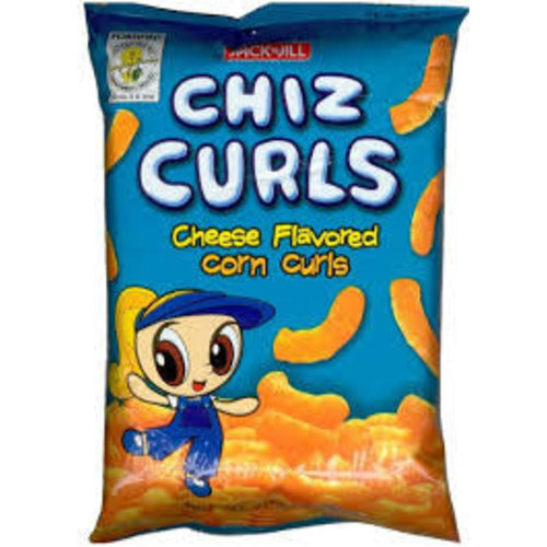 Jack & Jill Chiz Curls Cheese 55g