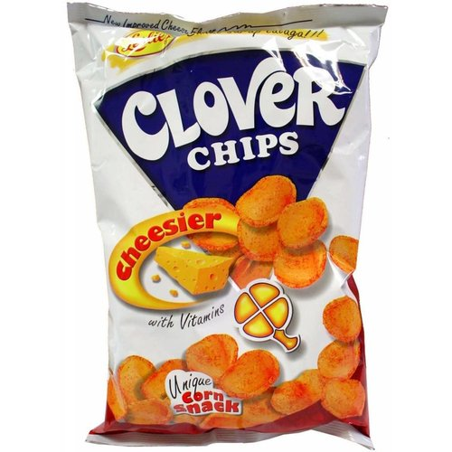 Leslies Clover Chips- Cheese 85g