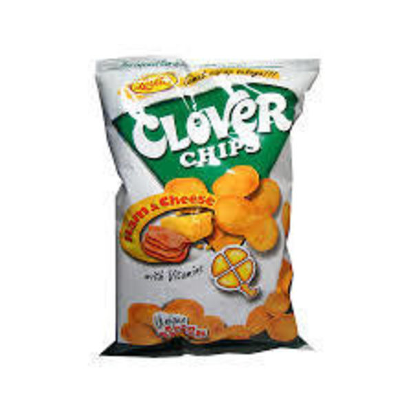 Leslie's BBD Clover Chips - Ham & Cheese 85g