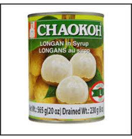 Chaokoh Longan in syrup 565g