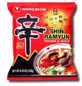Nongshim Shin Ramyun Noodle Hot & Spicy 120g