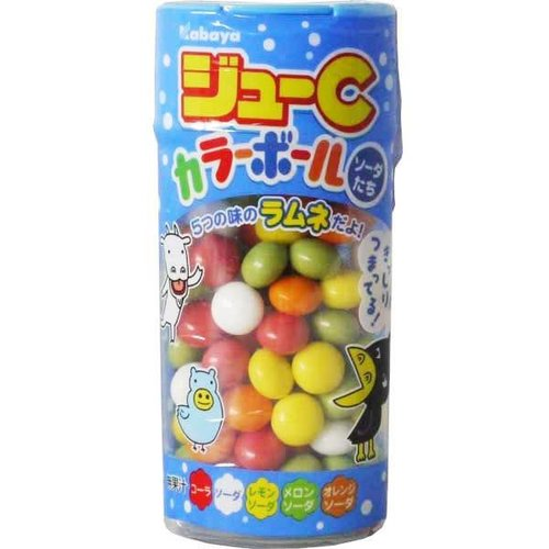 Kabaya Jyu-C Colour Ball - Soda Drops 35g