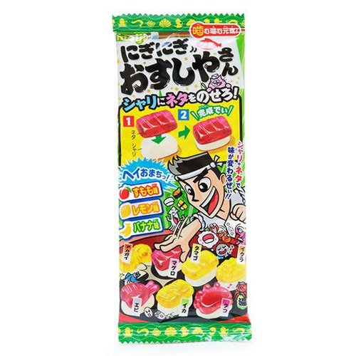 Meiji DIY Gummy Candy - Sushi Shop 22g