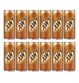 A & W Root Beer Sarsaparilla 320ml