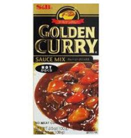 S & B Vegetarian Golden Curry Hot - Fun Size 100g