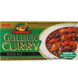 S & B S & B Vegetarian Golden Curry Medium Hot 100g