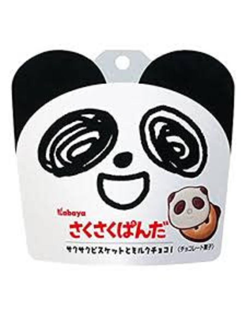 Kabaya Sakusaku Panda Milk Chocolate Biscuits 42g