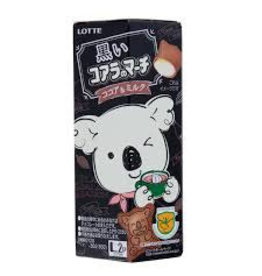 Lotte Koala's March Black Cocoa & Milk Chocolate Cream Biscuits Ltd Edition 48g