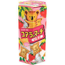 Lotte Koala's March Strawberry Cream Biscuits 48g