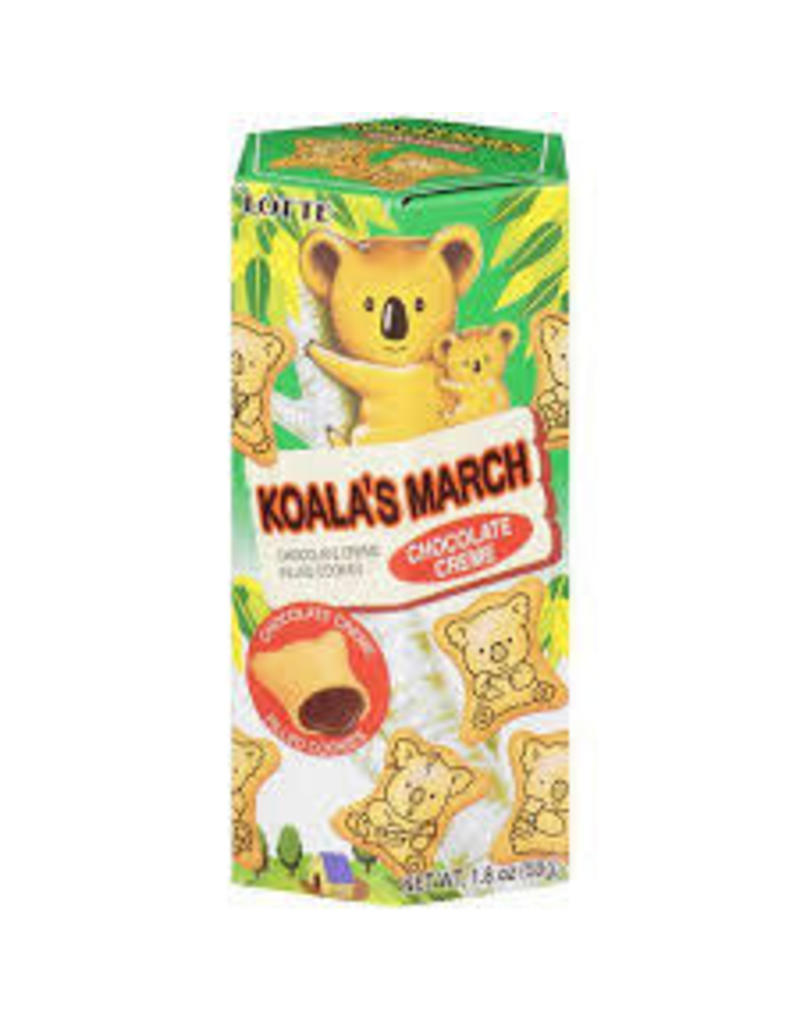 Lotte Koala's March Chocolate Cream Biscuits 50g
