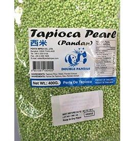 Double Panda Tapioca Pearls (Pandan) 400g