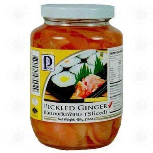 Penta Pickled Ginger Sliced 454g