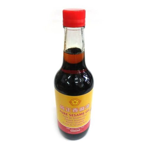 Gold Plum Pure Sesame Oil 500ml