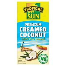 Tropical Sun 100% Pure Creamed Coconut 200g