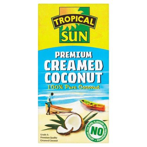 Tropical Sun Creamed Coconut 200g