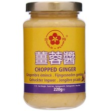 Gold Plum Chopped Ginger 220g