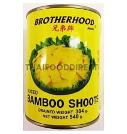 Brotherhood Bamboo Shoot Slice 540g