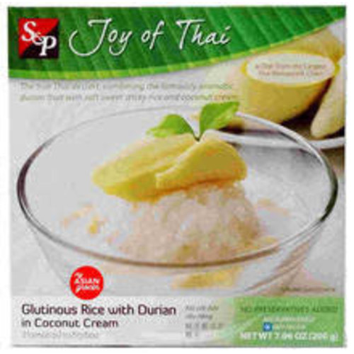 S  & P Glutinous Rice with Durian Coconut Cream 200g