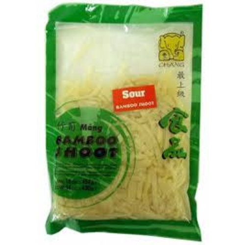 Chang Sour Bamboo Shoot Sliced 454g