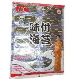 E & C Seasoned Seaweed REG 85g