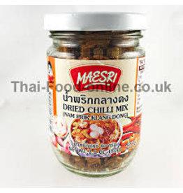 Maesri Dry Chilli Mix Klang Dong 80g