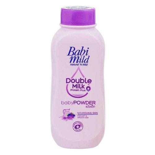 Babi Mild Double Milk Protien Plus Baby Powder 180g