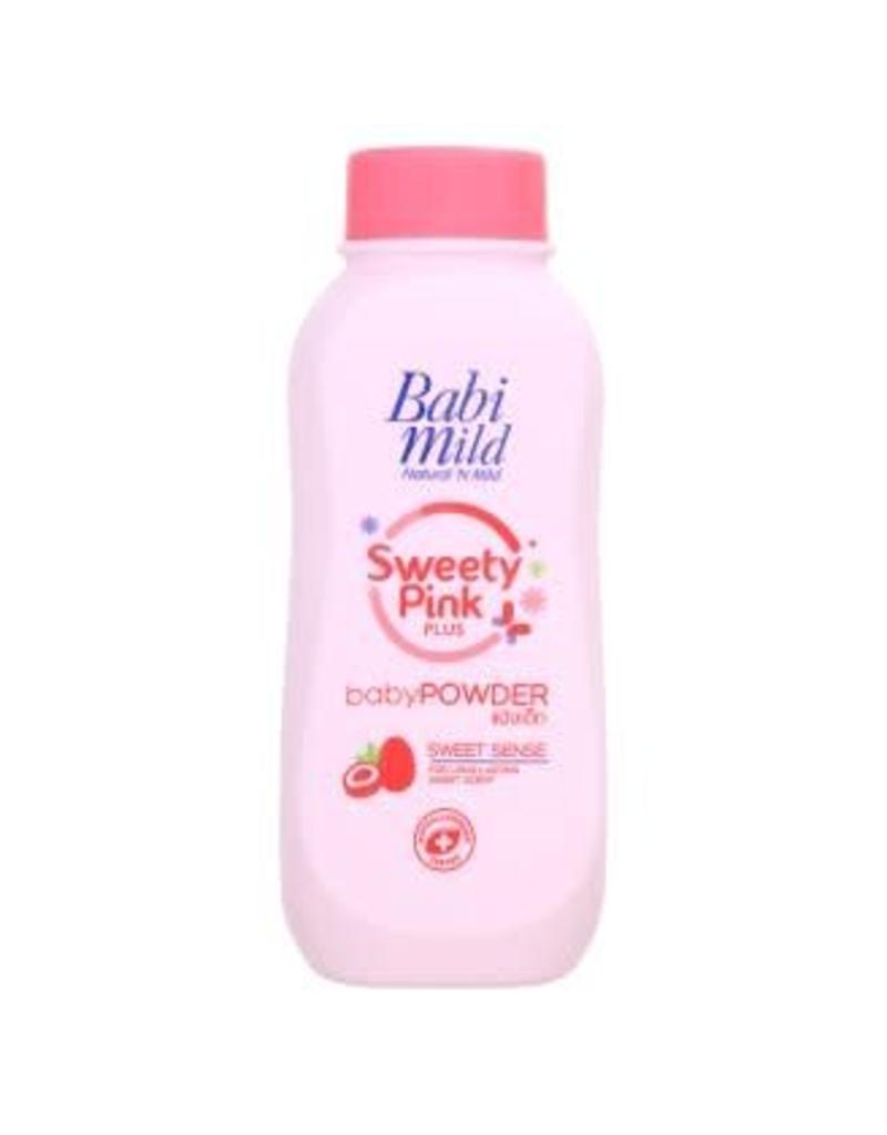 Babi Mild Sweet Pink Plus Baby Powder 180g