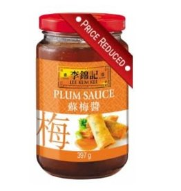 Lee Kum Kee REDUCED: Plum Sauce 397g BBF: 28/01/2018