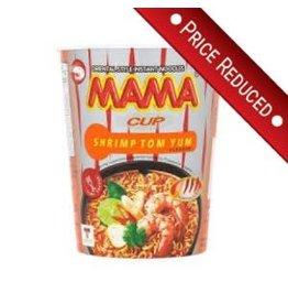 Mama REDUCED: Instant Noodles - Shrimp Creamy Tom Yum (cup) - 70g BBF: 04/04/2018