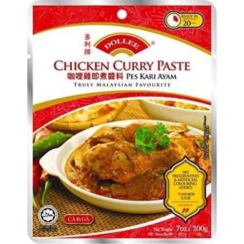 Dollee BBD Chicken Curry Paste 200g