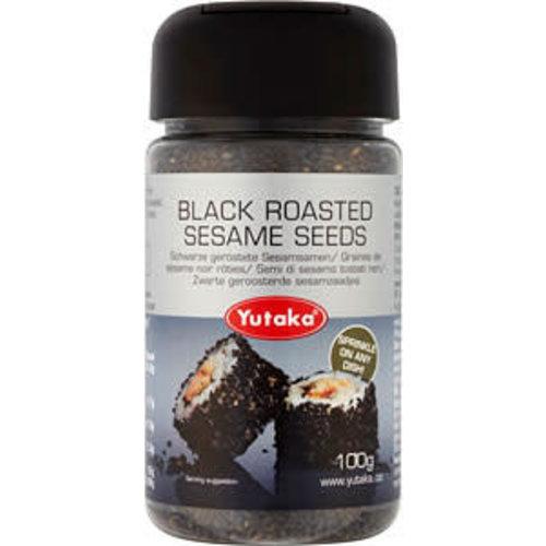 Yutaka Black Roasted Sesame Seeds 100g