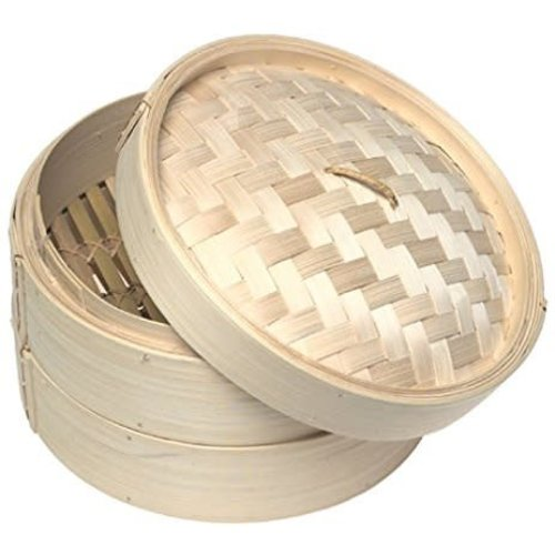 Bamboo 3 Piece Steamer 8""