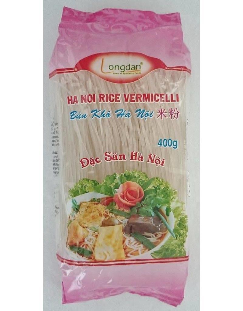 Longdan Hanoi Rice Vermicelli 0.8mm 400g