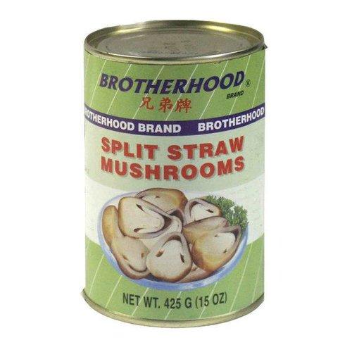 Brotherhood Split Straw Mushroom 425g