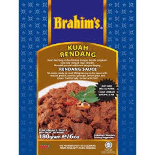 Brahim's Rendang Cooking Sauce 180g