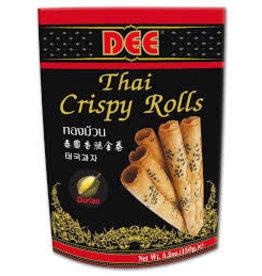Dee Crispy Rolls Durian Flavour 150g
