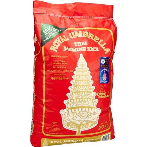 Royal Umbrella Thai Mali Jasmine Rice 20kg