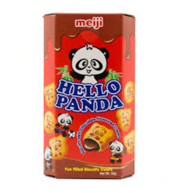 Meiji Hello Panda Chocolate Cream Biscuit 50g