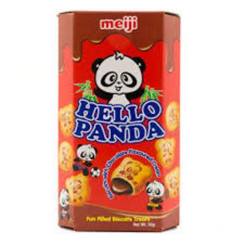 Meiji Hello Panda Chocolate Cream Biscuit 50g