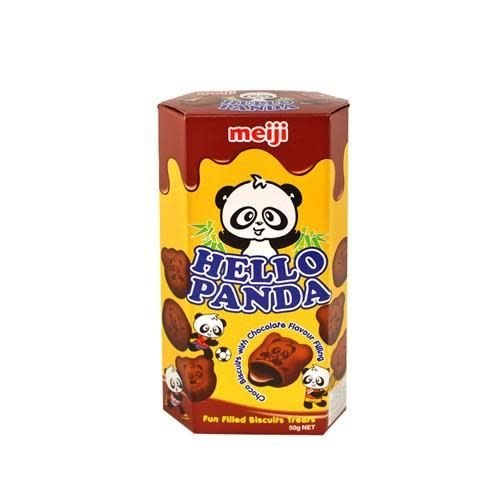 Meiji Hello Panda- Double Chocolate  50g