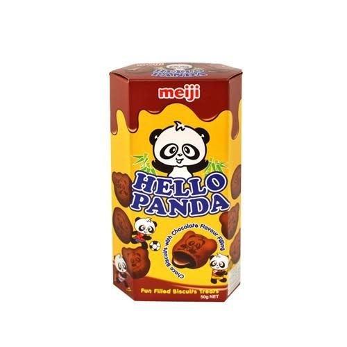 Meiji Hello Panda Double Chocolate Biscuit 50g