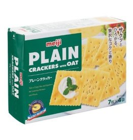 Meiji Plain cracker with oat 104g